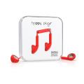 Фото наушников Happy Plugs Headphones Earbud Red (7701)