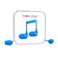 Фото вакуумных наушников Happy Plugs Headphones In-Ear Blue