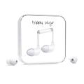 Фото вакуумных наушников Happy Plugs Headphones In-Ear White