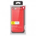 Чехол-накладка для iPhone 6/6S, Baseus Meteorite, красный
