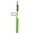 Акустический кабель Belkin 3.5 мм, витой, 1,8 м, зеленый, AV10126CW06-GRN
