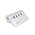 Фото разветвителя портов Satechi Premium 4 USB, серебристый