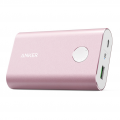 Внешний аккумулятор Anker Powercore+ 10050mAh, алюминиевый корпус, розовый, A1310H51