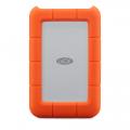 Фото внешнего диска LaCie Rugged Mini 2,5 USB-C 2TB, оранжевого