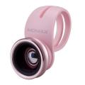 фото товара Набор линз Momax X-Lens 2 в 1 Superior Lens - Rose Gold