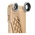 фото товара Набор линз Momax X-Lens Case для iPhone 6/6S PLUS - Gold