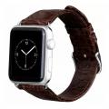 Фото кожаного ремешка HOCO для Apple Watch 42 мм, коричневого