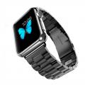 Фото стального браслета для Apple Watch, тёмно серого