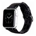 Фото кожаного ремешка HOCO для Apple Watch 38 мм, чёрного