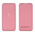 фото товара Внешний аккумулятор Devia Bomer 10000mAh, ультратонкий, розовый