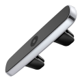 фото товара Держатель автомобильный Baseus Double Clip, магнитный, серебристый