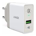 Сетевое зарядное устройство Anker PowerPort+, USB 3.0, белое - фото