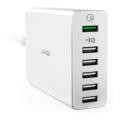 Сетевое зарядное устройство Anker PowerPort+ 6, белое - фото
