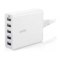 Сетевое зарядное устройство PowerPort 5, 40 Вт, белое-фото