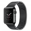Apple Watch 38 мм, «черный космос», блочный браслет «черный космос» 135-195 мм (MJ3F2)