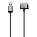 Фото кабеля Belkin Mixit UP 30-pin to USB-A, 2 метра, чёрного
