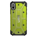 Чехол Urban Armor Gear Plasma Case для iPhone X, лимонный-фото