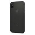 Чехол SGP Air Skin для iPhone X, черный-фото
