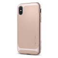 Чехол SGP Neo Hybrid для iPhone Х, бежевый-фото