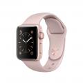 """Apple Watch Series 2, 38 мм, корпус из алюминия цвета """"розовое золото"""", спортивный ремешок цвета """"розовый песок"""" (MNNY2)"""