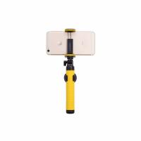 Фото монопода для селфи Momax Selfie Hero Bluetooth Selfie Pod 70 см, желтый