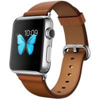 Apple Watch 38 мм, коричневый ремешок с классической пряжкой 125-200 мм (MLCL2)