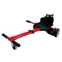 Фото ховеркарта (коляски) для гироскутера, красного