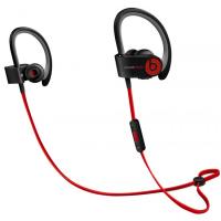 Беспроводные наушники Beats Powerbeats 2 Wireless чёрного и красного цвета