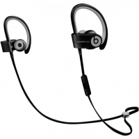 Беспроводные наушники Beats Powerbeats 2 Wireless чёрные с серым цветом