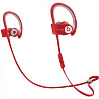 Беспроводные наушники Beats Powerbeats 2 Wireless красного цвета