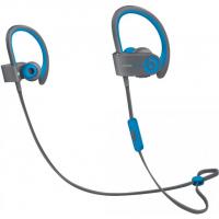 Беспроводные наушники Beats Powerbeats 2 Wireless серые с синим цветом