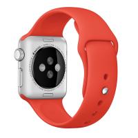 Фото спортивного ремешка для Apple Watch 38 мм, оранжевого