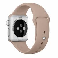 """Фото спортивного ремешка для Apple Watch 38 мм, """"ореховый"""""""