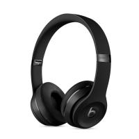 Фото беспроводных накладных наушников  Beats Solo 3 Wireless, черных