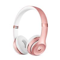 Фото беспроводных накладных наушников  Beats Solo 3 Wireless Rose Gold