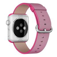 Фото нейлонового ремешка для Apple Watch 42мм, розовый