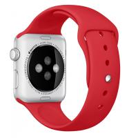 Фото спортивного ремешка для Apple Watch 42 мм, красного