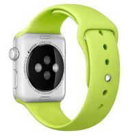 Фото спортивного ремешка для Apple Watch 42 мм, зеленого