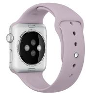 """Фото спортивного ремешка для Apple Watch 42 мм, """"лавандового"""""""