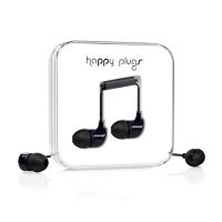 Фото вакуумных наушников Happy Plugs Headphones In-Ear Black