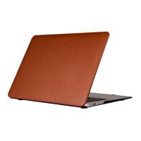 "Фото чехла накладки для ноутбука Apple MacBook Air 12"" Uniq HUSK Pro TUX, коричневого"