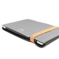 Фото чехла для MacBook 12 Acme Sleeve Skinny, серый/оранжевый