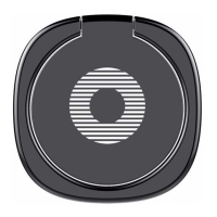 фото держателя кольцо Baseus Privity Ring Bracket, black