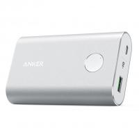 Внешний аккумулятор Anker Powercore+ 10050mAh, серебристый, A1311H41