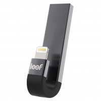 Внешний накопитель Leef iBridge3, USB 3.1 &  Apple Lightning, 32 Гб для iPhone/iPad/iPod, чёрный, LIB3CAKK032R1
