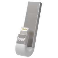 Внешний накопитель Leef iBridge3, USB 3.1 &  Apple Lightning, 32 Гб для iPhone/iPad/iPod, серебристый, LIB300SW032R1