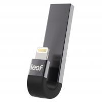 Внешний накопитель Leef iBridge3, USB 3.1 &  Apple Lightning, 64 Гб для iPhone/iPad/iPod, чёрный, LIB3CAKK064R1