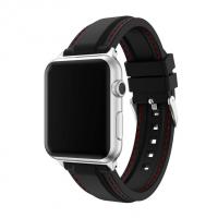 Фото спортивного ремешка для Apple Watch, чёрного