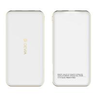 фото товара Внешний аккумулятор Devia Bomer 10000mAh, ультратонкий, белый