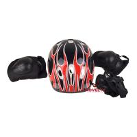 фото товара Защитный комплект(Детский) для езды, шлем, налокотники, наколенники